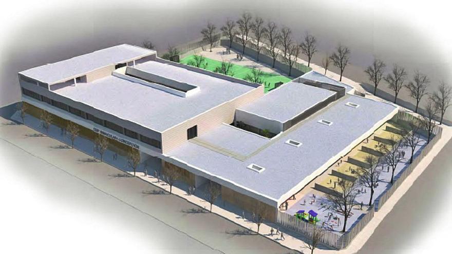 Torrevieja prepara la parcela para reubicar el Colegio Público Inmaculada