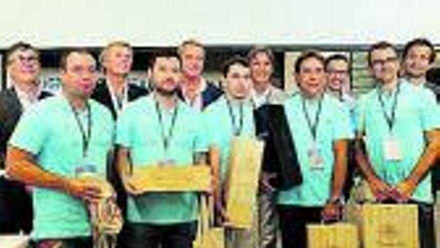 Bronce para los valencianos en el Mundial de cata por equipos