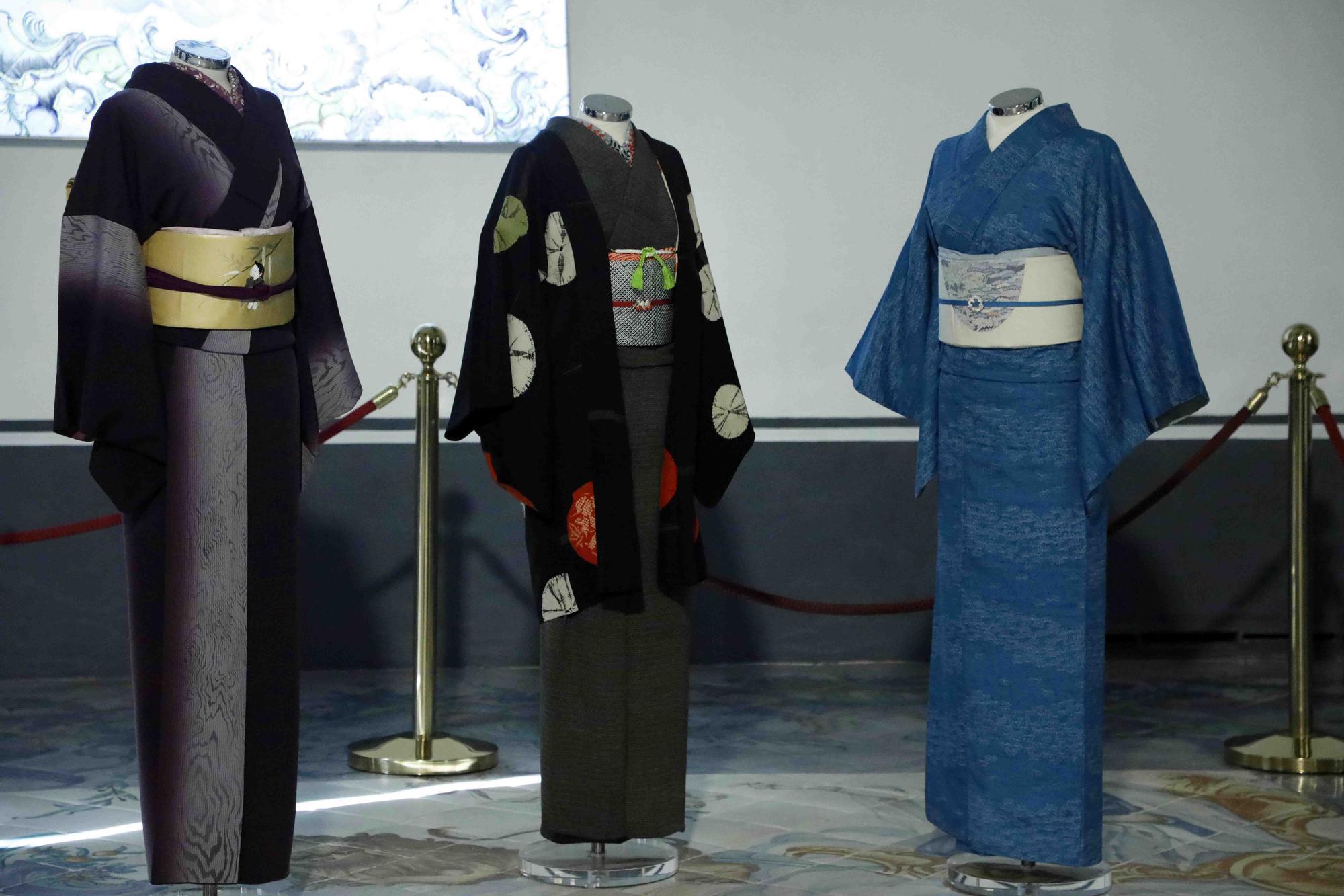 El Museo de la Seda nos descubre la historia del kimono