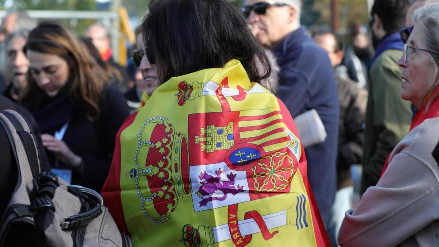 Protestas contra la exhumación de Franco