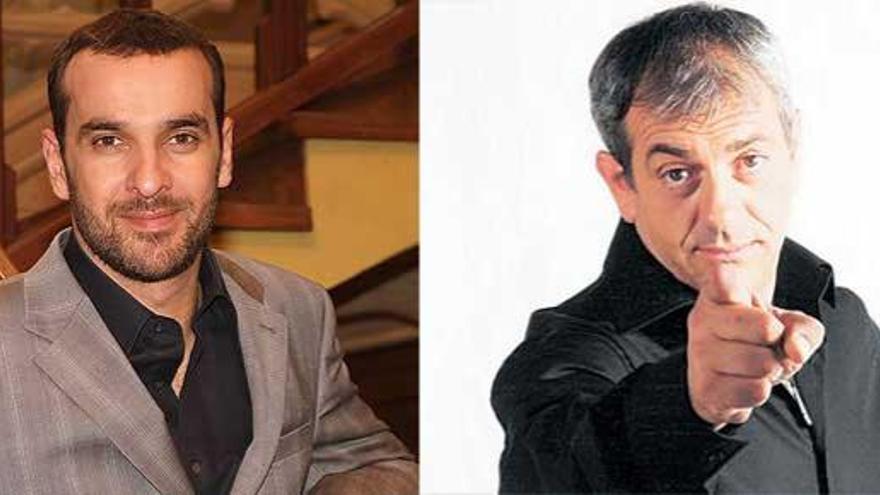 Carlos Sobera o Luis Merlo, estrellas de la programación de Can Ventosa