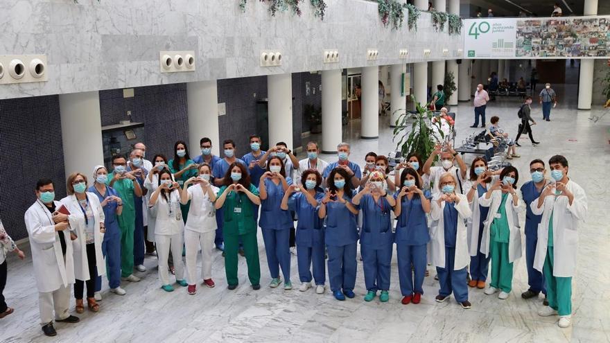 El hospital Reina Sofía realiza 6 trasplantes en algo más de 24 horas, 4 de ellos pulmonares