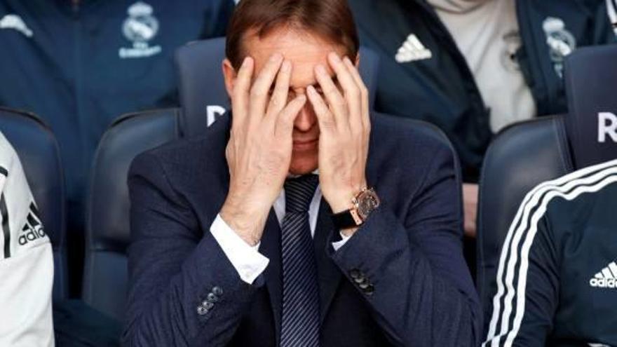 El Madrid fulmina Lopetegui i Solari agafa l'equip de manera provisional
