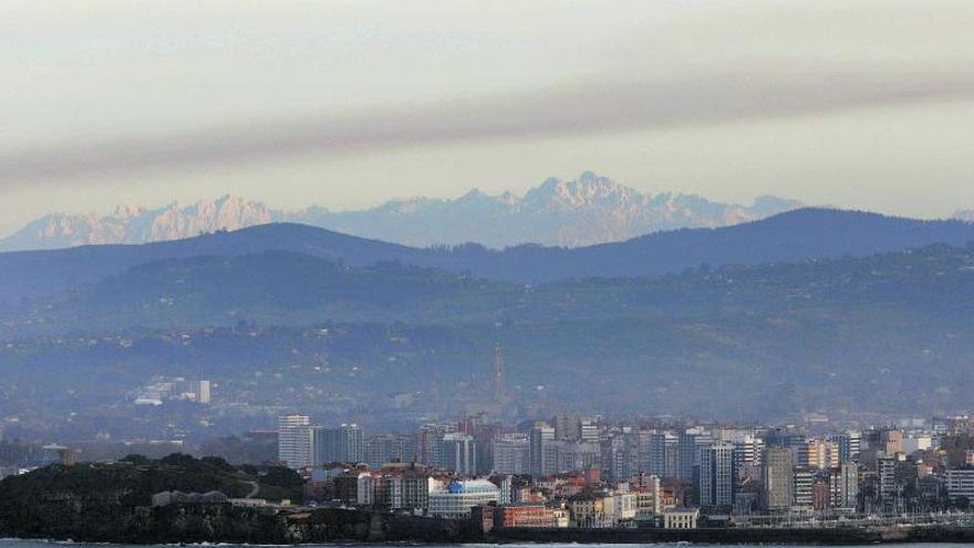 Boina de contaminación sobre la ciudad por la falta de lluvias
