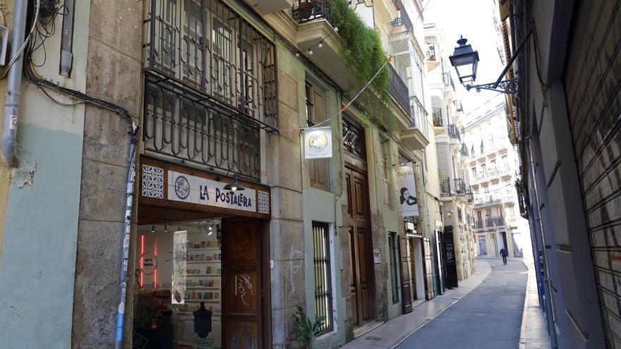Obrador medieval en la calle Danzas de València