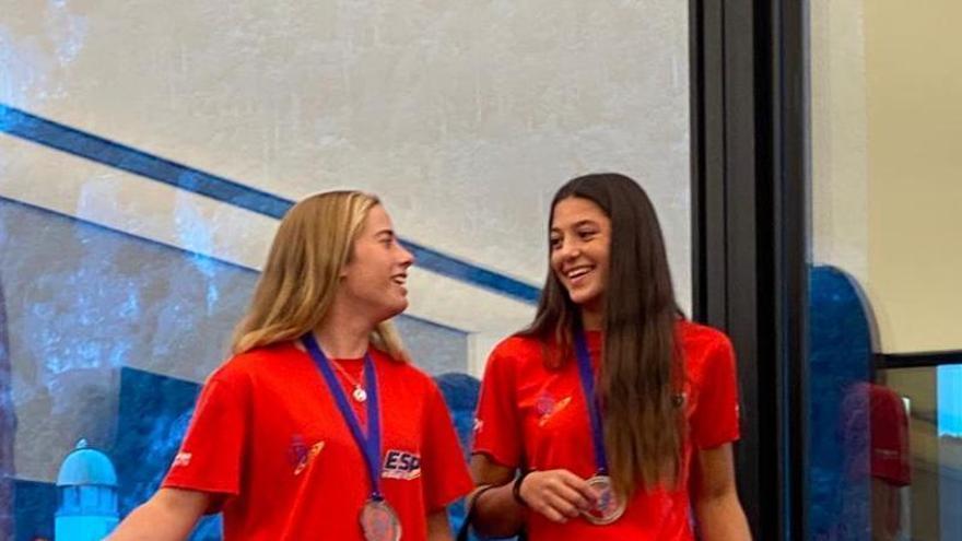 Lodos / Díaz, medalla de bronce en el Campeonato de Europa de la Clase 29er