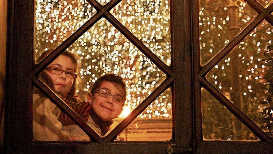 Weihnachtsbeleuchtung in Palma - heute ist es soweit!