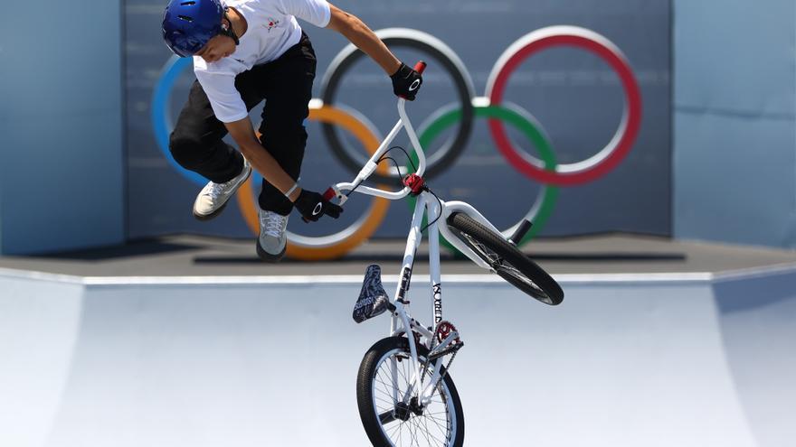 Martin y Worthington estrenan el oro olímpico de BMX freestyle