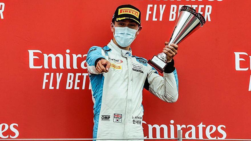 La escudería alcireña sube al podio en Silverstone