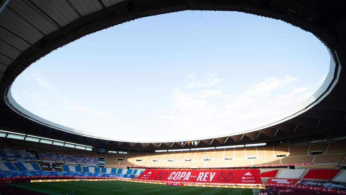 La Cartuja hosts the Athletic-Real Sociedad final.