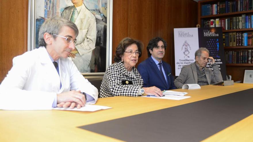 Un estudio para ajustar la diana terapéutica, premio Rafael Hervada