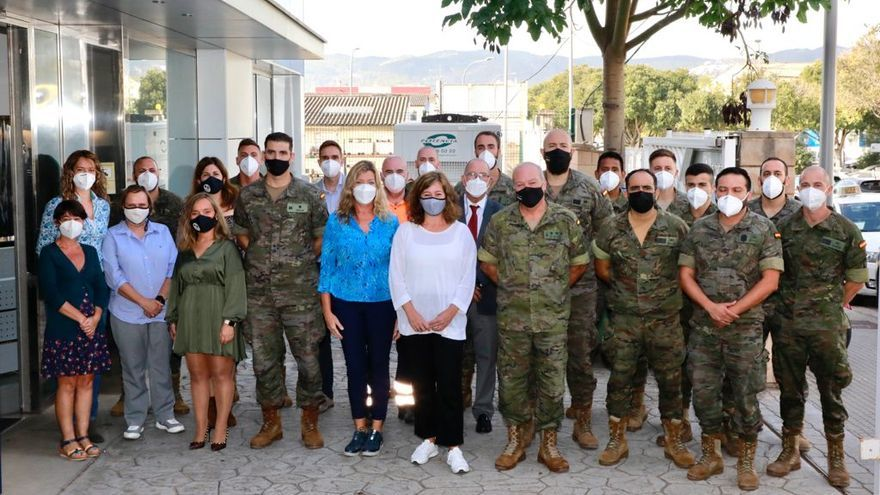 Los militares de Baleares dejan de realizar labores de rastreo de los casos de coronavirus en las islas