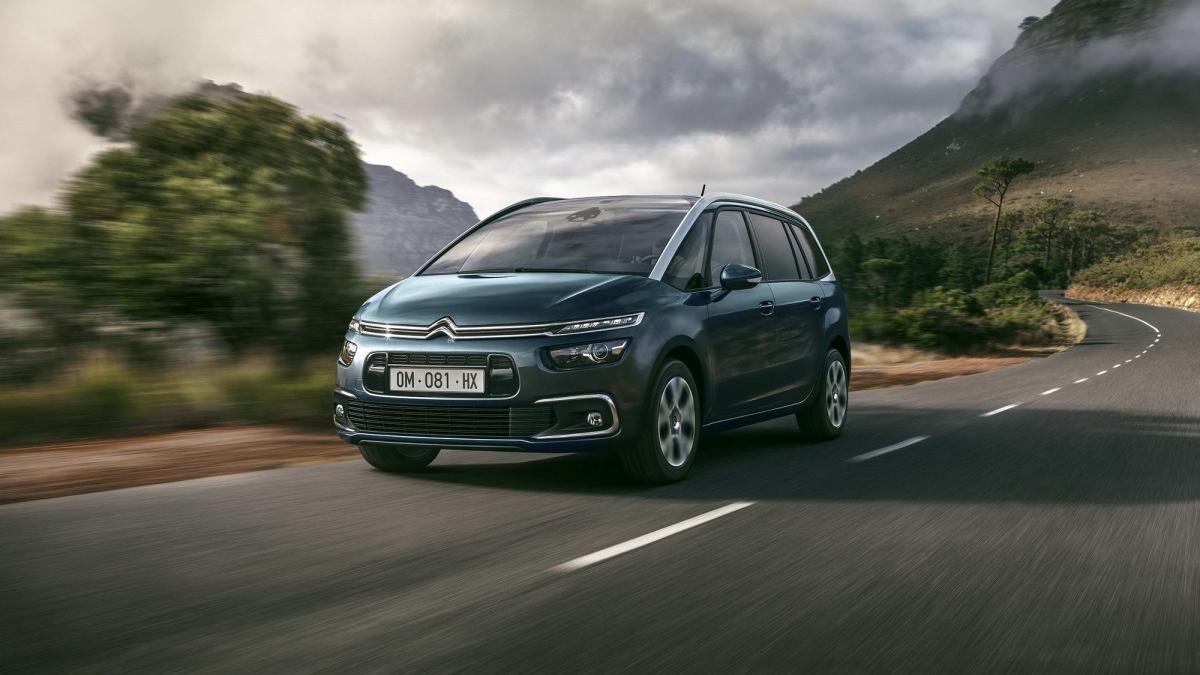 Citroën Grand C4 SpaceTourer: hasta 7 plazas con el máximo confort