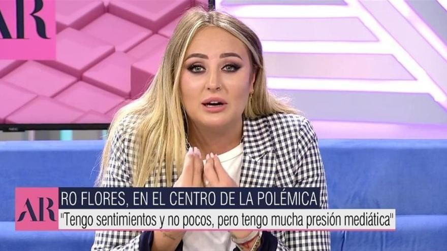 """Rocío Flores rompe su silencio en 'AR' y se dirige a su madre: """"Tus hijos están aquí. Levanta el teléfono"""""""