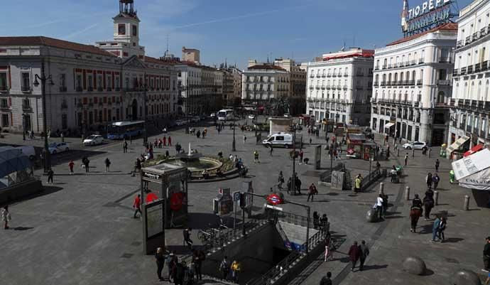 Madrid, semivacío por el coronavirus