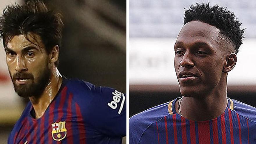 El Barcelona vende a Yerry Mina y cede a André Gomes al Everton