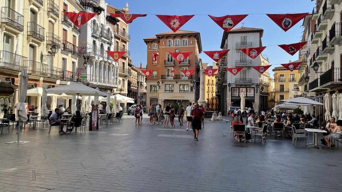 Teruel vive sus fiestas con prudencia