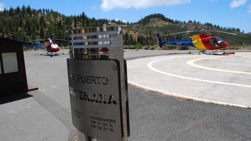 El personal de helicópteros propone cambiar la base a un lugar sin nieblas