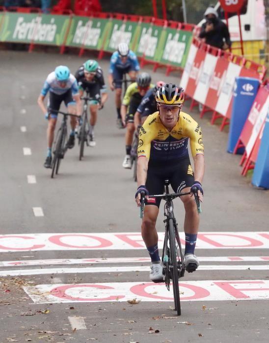 Las imágenes de la 1ª etapa de la Vuelta a España