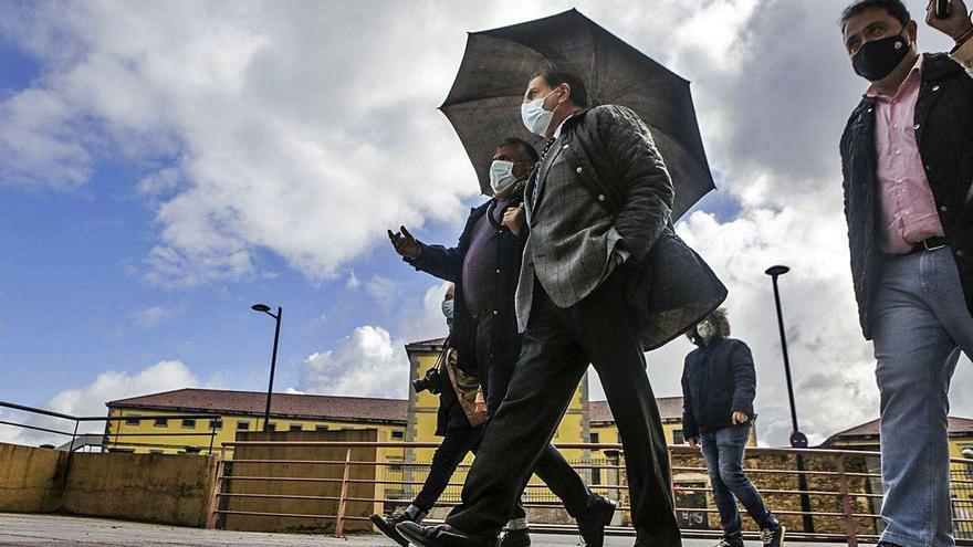 Canteli confía en que las obras de Nicolás Soria acaben con los atascos en un año