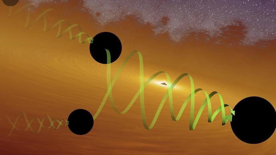 Detectada una ona gravitacional gegant que obre més preguntes que respostes