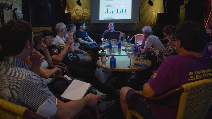 La salas de música de la región analizan en Benavente el impacto de la COVID-19
