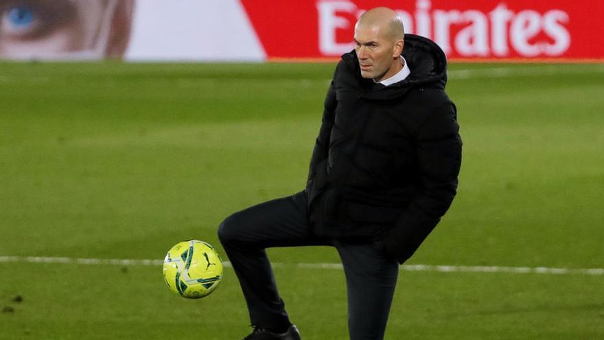 """Zidane: """"Ha sido un partidazo de los dos equipos"""""""