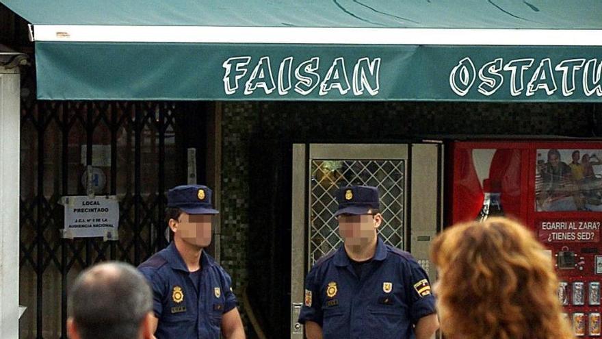 Rechazan devolver al hijo del dueño del bar Faisán los 20.000 euros incautados