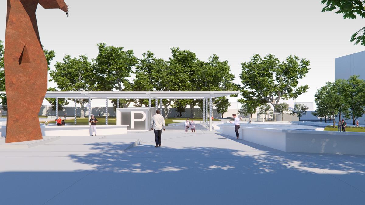 Así será la nueva plaza de Barcelos.