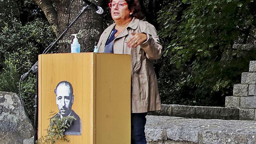 Acte al Coll de la Manrella en homenatge a Lluís Companys
