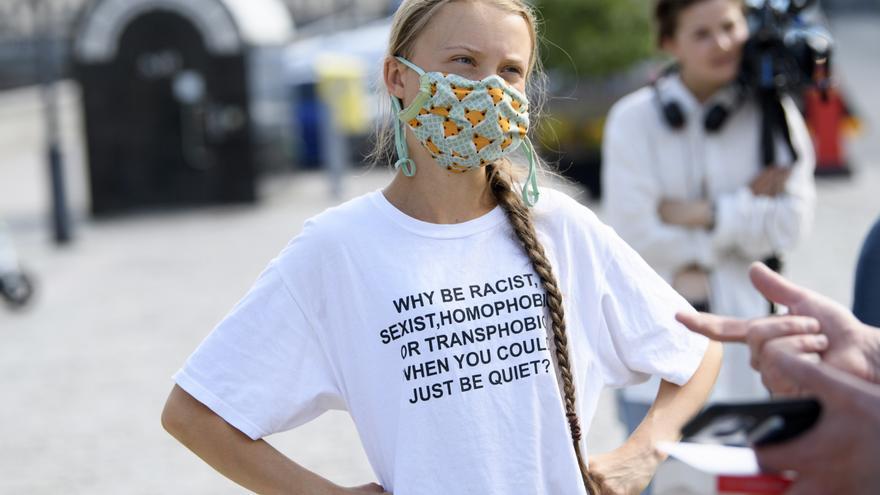 """Thunberg cree que algunos países hacen """"un poco más"""" para luchar contra el cambio climático"""
