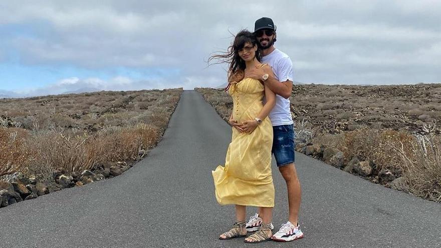 Sara Sálamo e Isco anuncian en Canarias un nuevo embarazo