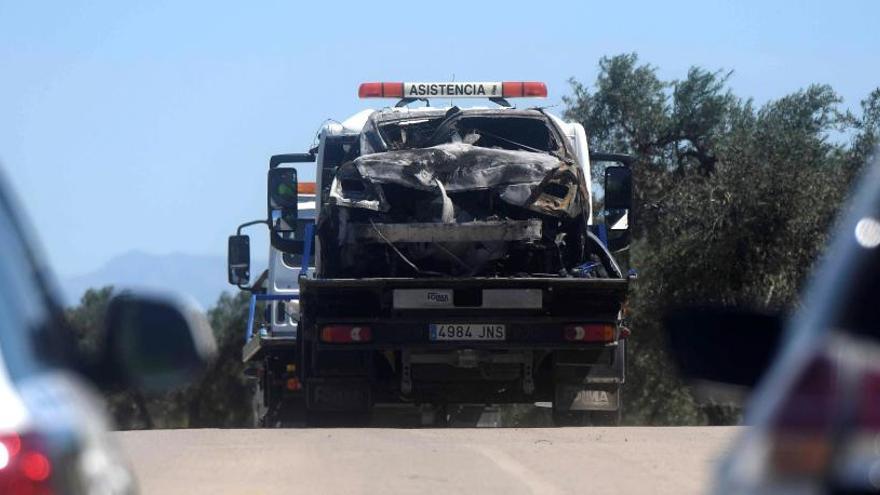 La DGT confirma que el exceso de velocidad fue la causa del accidente de Reyes