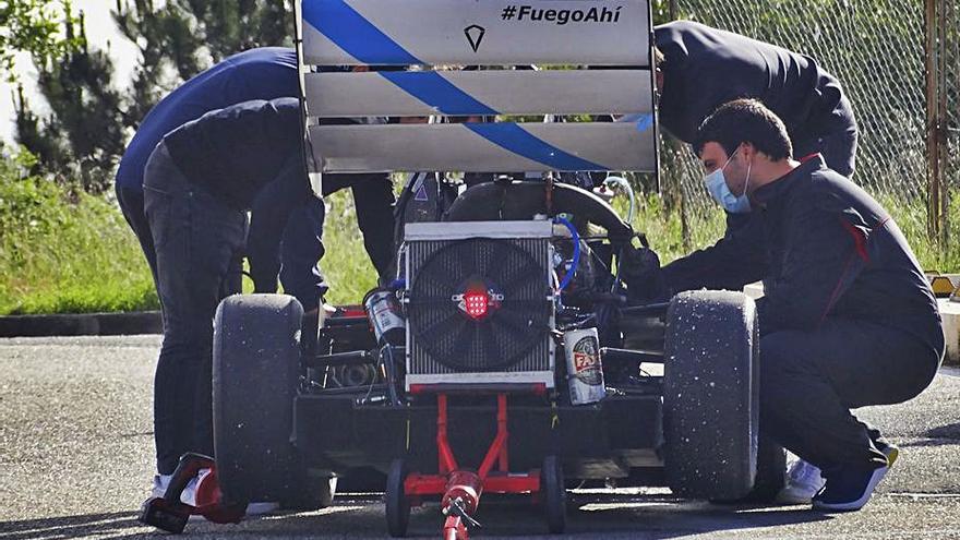 UVigo Motorsport comienza a fabricar el coche con el que volverá a competir en Europa
