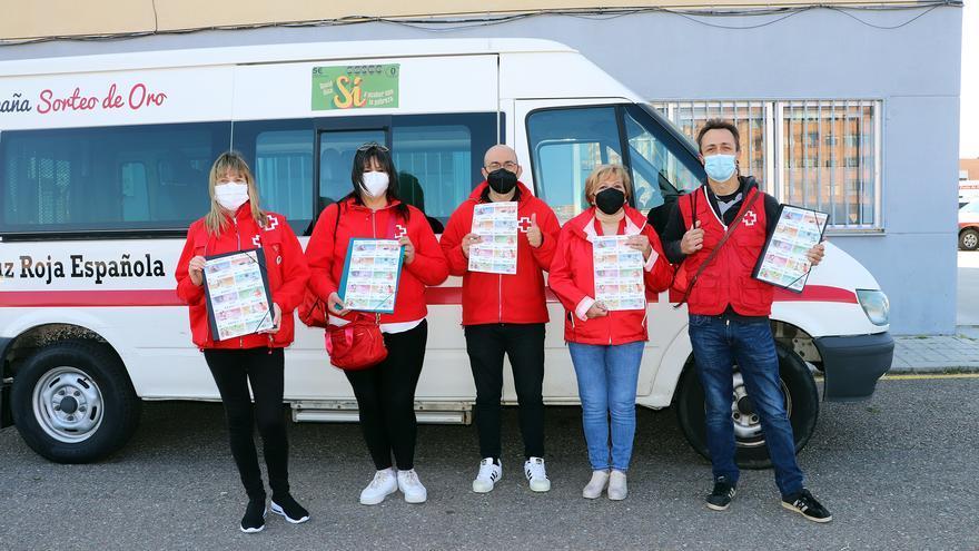 Zamora se vuelca con el Sorteo del Oro de Cruz Roja