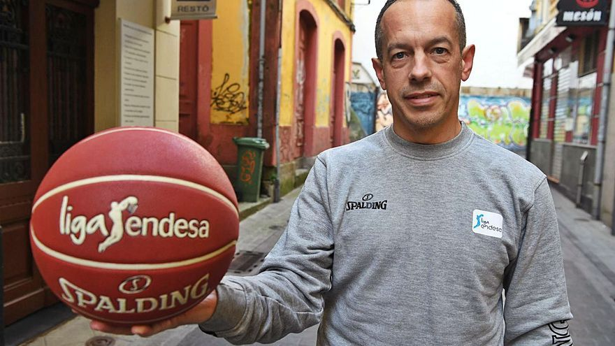 A Coruña estará representada por el árbitro Carlos Cortés