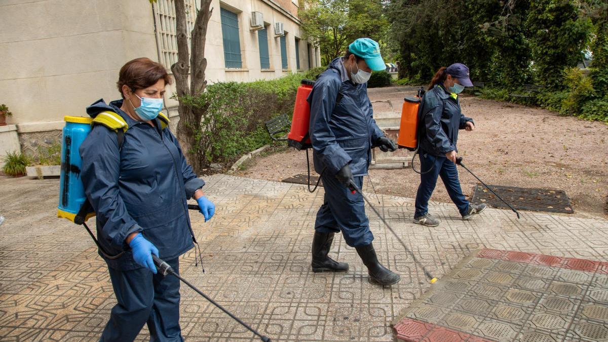 El Ayuntamiento de Caravaca adapta el Plan de Desinfección a la primera fase de desescalada