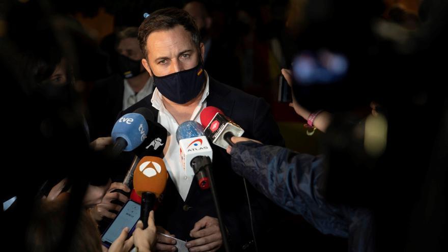 """Abascal acusa al Gobierno de """"empeorar"""" la crisis migratoria y apela al uso de la Armada para vigilar la costa africana"""