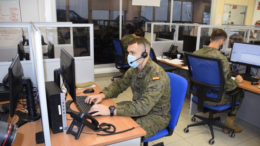 30 militares se suman este lunes a las labores de rastreo contra la COVID en Baleares