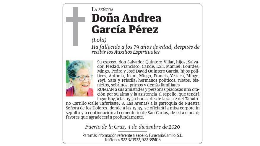 Andrea García Pérez