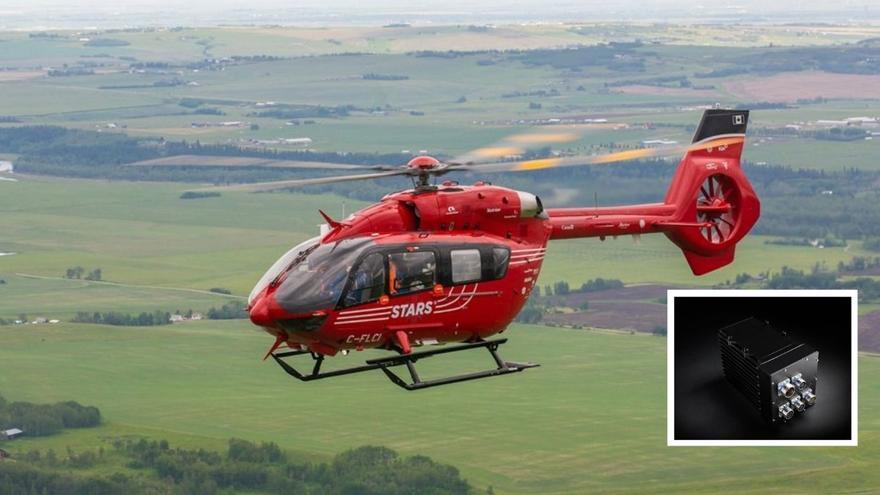 Airbus confía en el sistema de rescate de la viguesa Centum para sus helicópteros