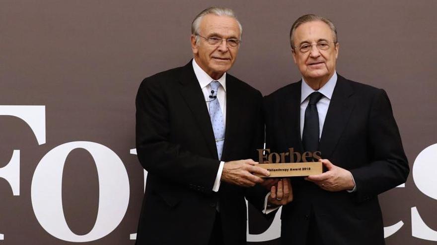 Isidro Fainé, premio Forbes a la filantropía 2018