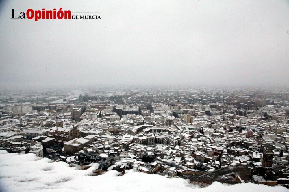 Gran nevada en Lorca