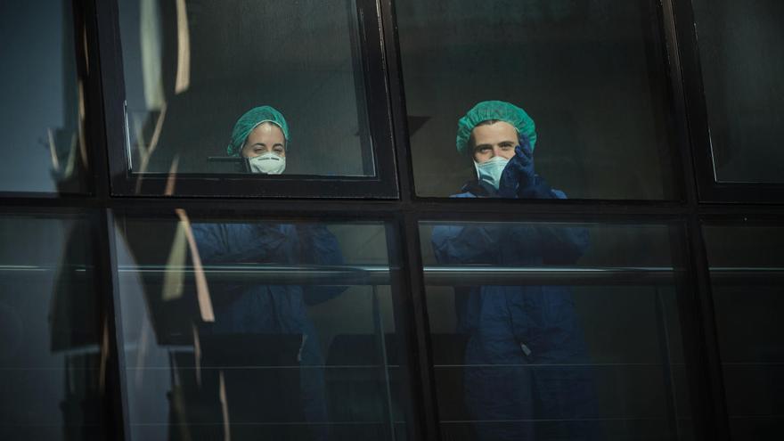 """Primera sentencia contra la administración por no """"proteger"""" a los sanitarios"""