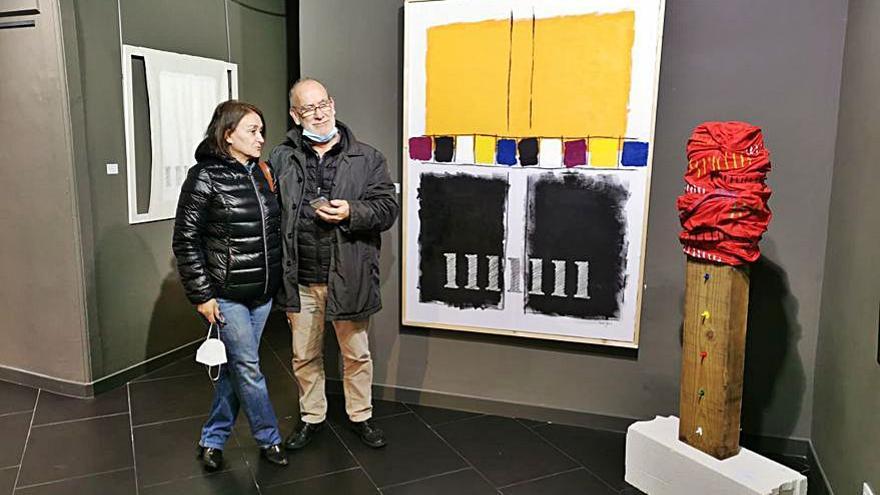 La galería Black Box inaugura la exposición 'Volumes Bidimensionais', de Faustino Seijas