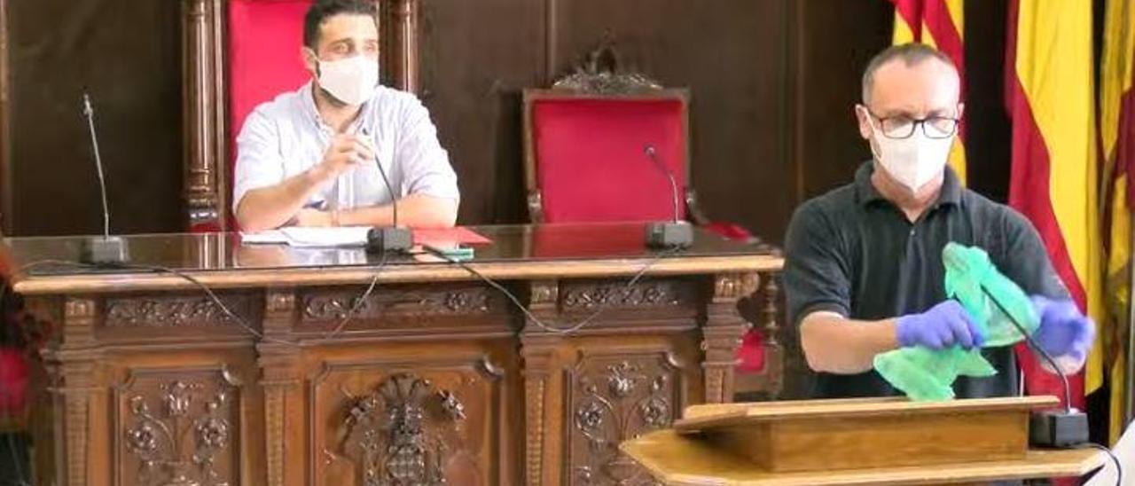 La pandemia obliga a Sagunt a devolver a sus vecinos más de 100.000 euros