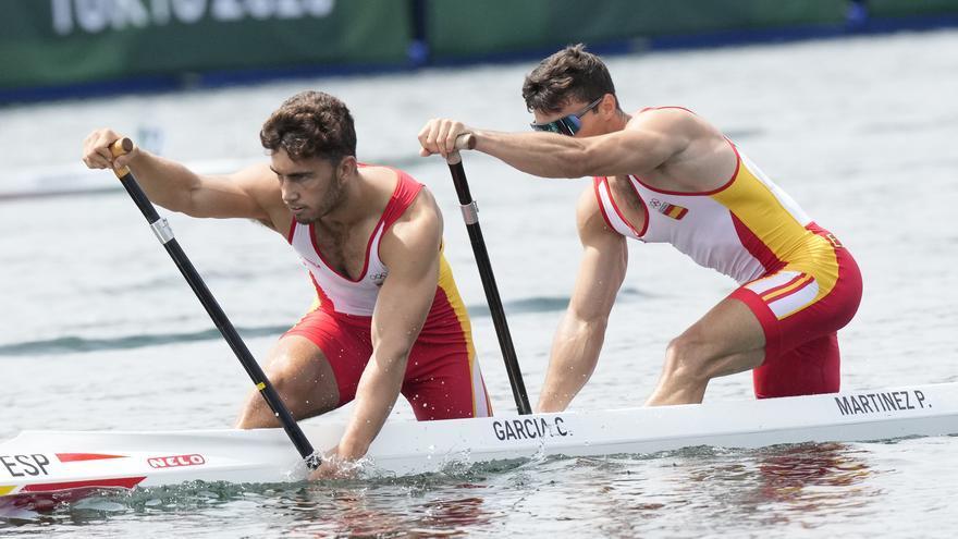 El K4 español, a semifinales como primeros y con nuevo récord olímpico
