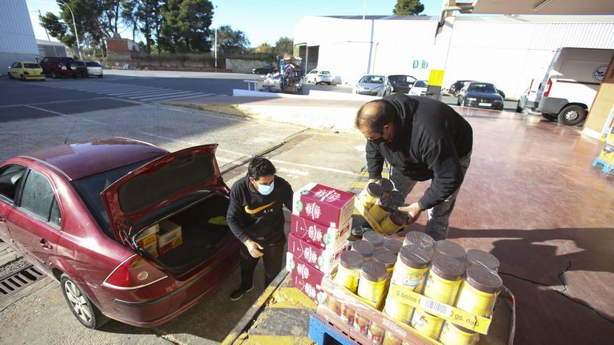 Mercalicante dona más de 37.146 kilos de alimentos para el desarrollo de iniciativas solidarias frente al covid