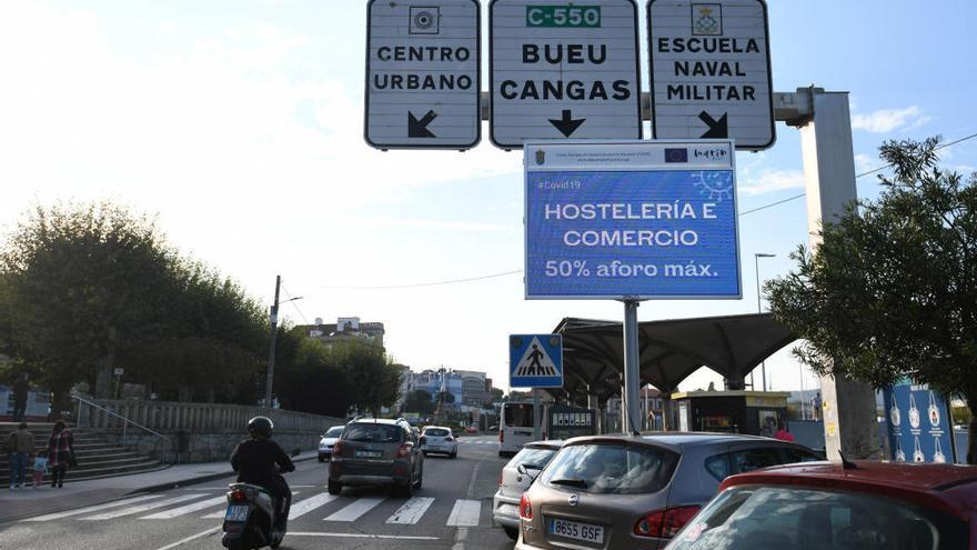 Marín, el concello con más riesgo de contagio de Covid-19 en la comarca pontevedresa