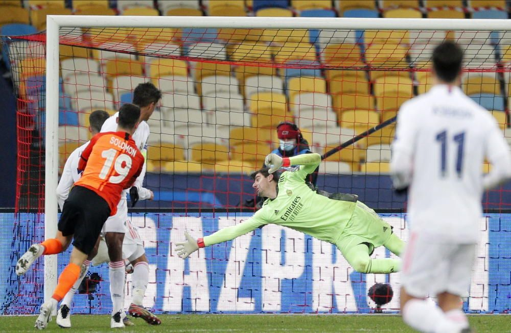 Champions League: Shakhtar Donetsk - Real Madrid.
